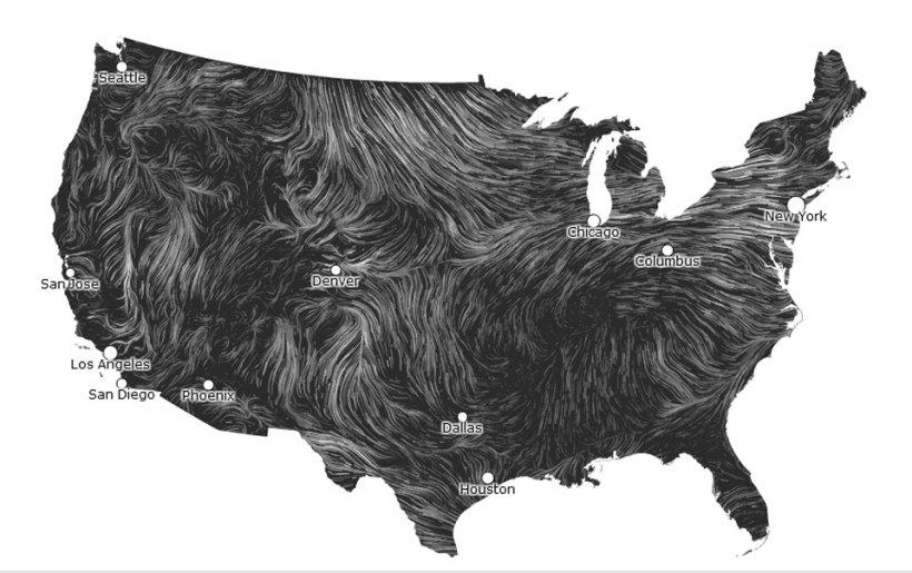 Mapa de vento